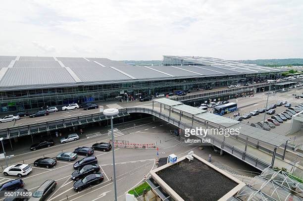 The airport in Stuttgart