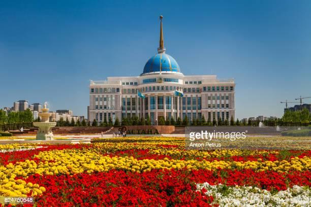 The Ak Orda Presidential Palace, Kazakhstan, Astana,
