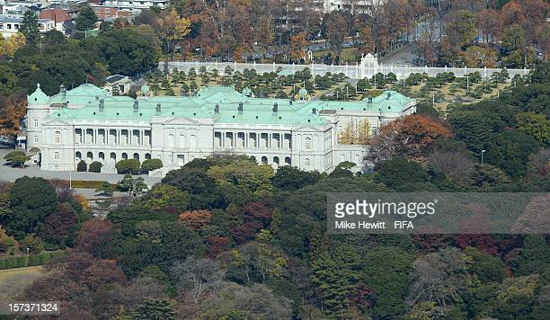 The Akasaka Palace which acts as the State Guesthouse on December 2 2012 in Tokyo Japan