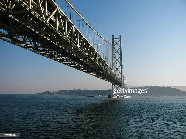 CONTENT] The Akashi Straits Bridge built in 1998 is the longest suspension bridge in the world with a central span of almost 2 full kilometers with a...