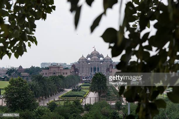 The Akshardham temple a vast Hindu complex open in 2005 in Delhi