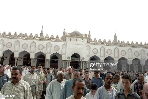 The Al Azhar mosque in Cairo