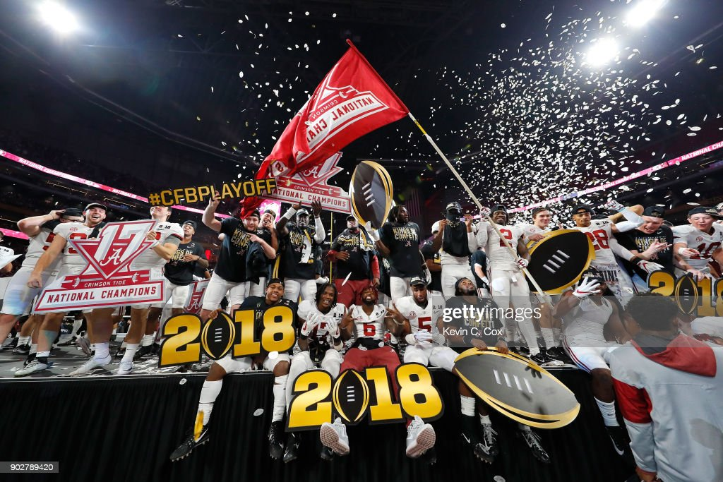 CFP National Championship presented by AT&T - Alabama v Georgia : News Photo