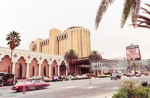 The Aladdin Resort Casino is a casino resort on the Las Vegas Strip in the unincorporated locale of Paradise Nevada The Aladdin Hotel opened on April...