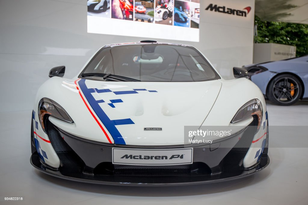 The Alain Prost Special Edition Mclaren P1 Dressed In The Livery