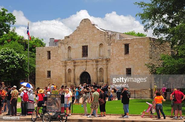The Alamo and Tourists