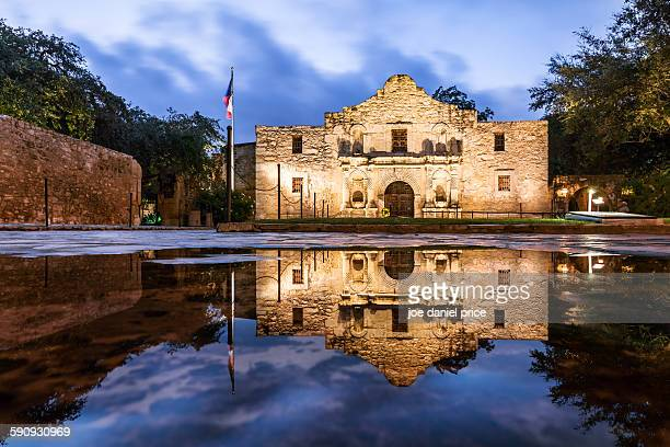 the alamo, san antonio - houston texas fotografías e imágenes de stock