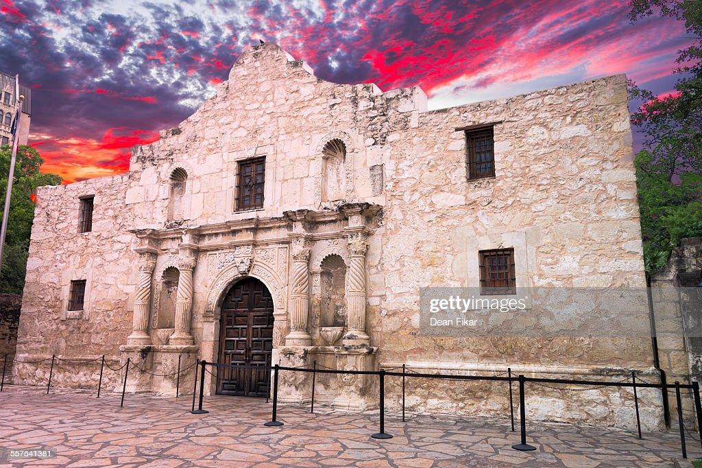 The Alamo, San Antonio, TX : Foto de stock