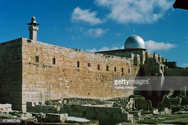 The AlAqsa Mosque in the Old City of Jerusalem 1975