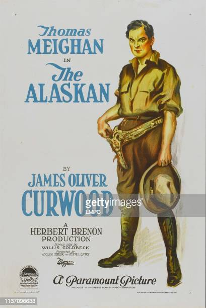 The Alaskan, poster, style 'A' poster featuring Thomas Meighan, 1924.