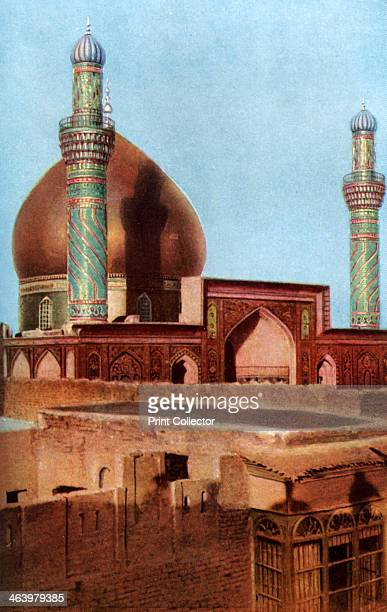 The alAskari Mosque Samarra Iraq c1930s Originally built in 944 the alAskari Mosque is the shrine of Ali alHadi and Hasan alAskari the 10th and 11th...