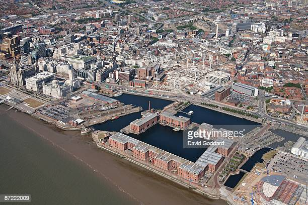 The Albert Dock and the cultural city of Liverpool on 7th August 2006