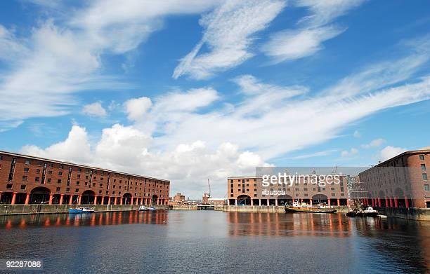 The Albert dock in Liverpool - Landscape