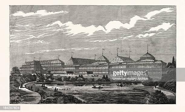 The Albert Exhibition Palace Battersea Park London Uk
