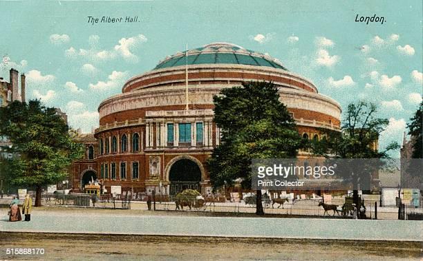 The Albert Hall, London', circa 1910. [Hartmann, London, circa 1910]. Artist: Unknown.