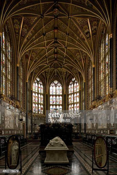 The Albert Memorial Chapel, originally built by Henry III in memory of Edward the Confessor, then largely restored by Queen Victoria, who dedicated...