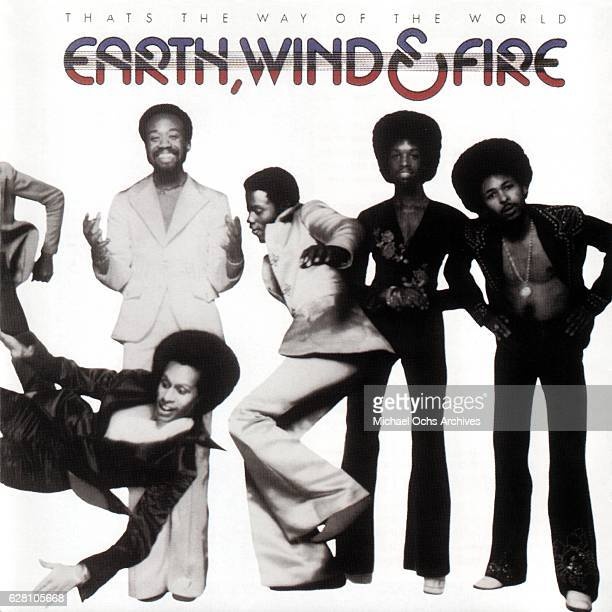 The Album cover for 'That's the Way of the World' by Earth Wind Fire on released by Columbia Records in March 1975