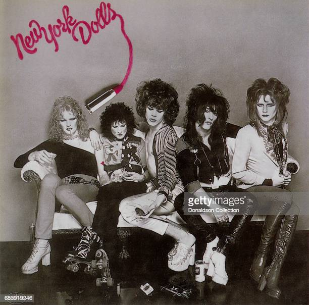 The album cover for the New York Dolls eponymous debut album released by Mercury Records.