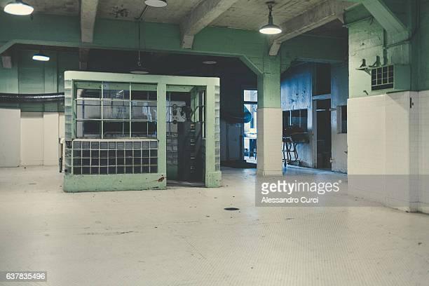 the alcatraz's kitchen - alcatraz island stock pictures, royalty-free photos & images