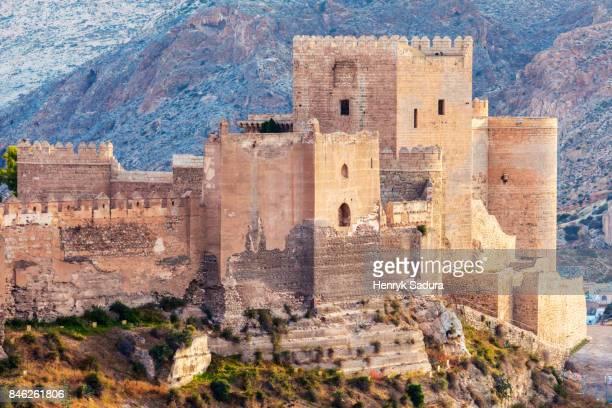 the alcazaba of almeria - アルメリア ストックフォトと画像
