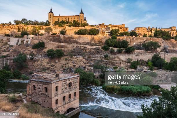 The Alcazar of Toledo at sunrise