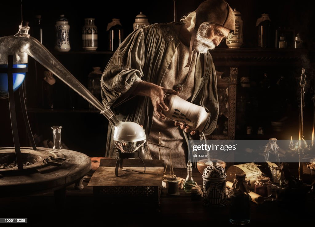 The Alchemist : Stock Photo