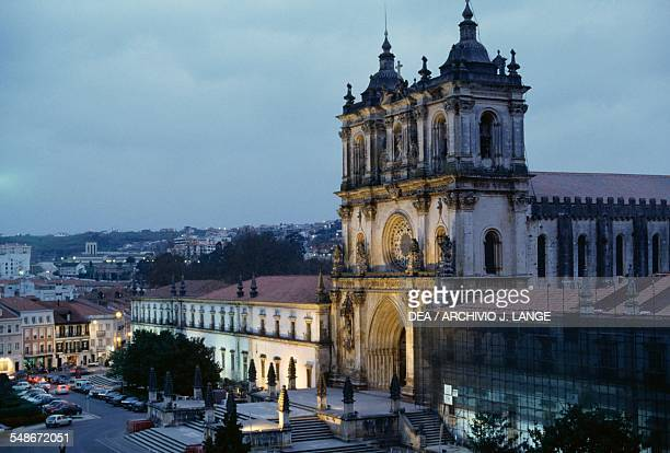 The Alcobaca monastery Alcobaca Historical Province of Extremadura Centro Portugal 12th18th century