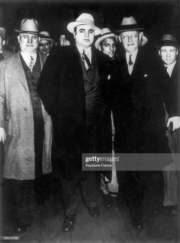 Incarceration Of Al Capone In 1932 : News Photo