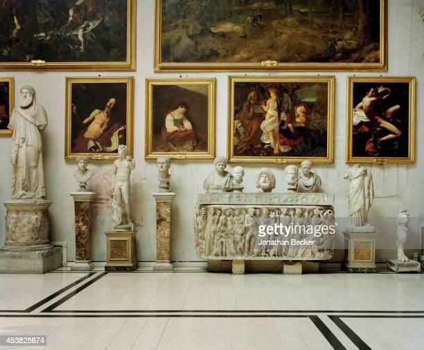 The Aldobrandini Room is photographed for Vanity Fair Magazine on April 26 2011 in the Palazzo Doria Pamphilj in Rome Italy The Aldobrandini Room...