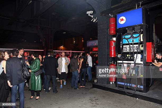 The Alexander Wang after party is held at The Gas Station at Milk on September 12, 2009 in New York, New York.