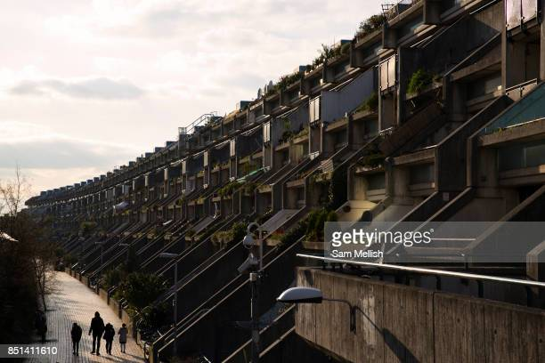 The Alexandra Road Estate on 25th February 2016 in North London United Kingdom Properly known as the Alexandra and Ainsworth Estate also known as...