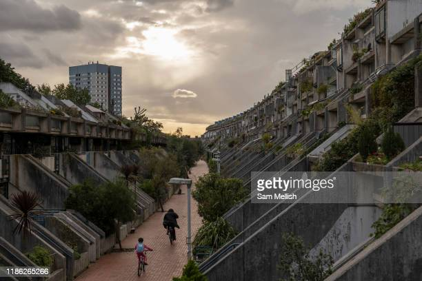 The Alexandra Road Estate on the 10th October 2019 in London in the United Kingdom The Alexandra Road estate properly known as the Alexandra and...