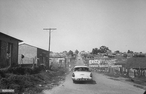 The Alexandra township a `group area' for `coloreds' near Johannesburg