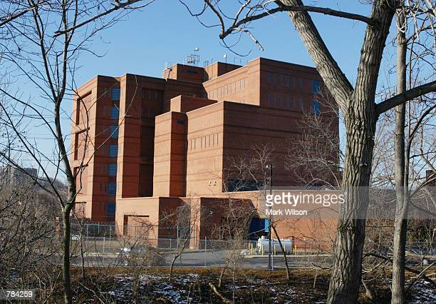 The Alexandria City Jail where American Taliban fighter John Walker Lindh will be taken is seen January 22 2002 in Alexandria Va Lindh was charged in...