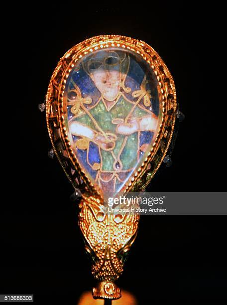 The Alfred Jewel is an AngloSaxon artefact made of enamel and quartz enclosed in gold that was discovered in 1693 and is now one of the most popular...