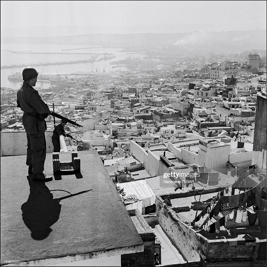 The Battle Of Algiers During The Algerian War In 1957 : News Photo
