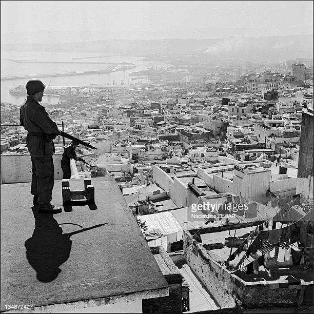 The Algerian National Liberation Front decided to bring the conflict to the cities On January 7 eight thousand paratroopers led by General Jacques...