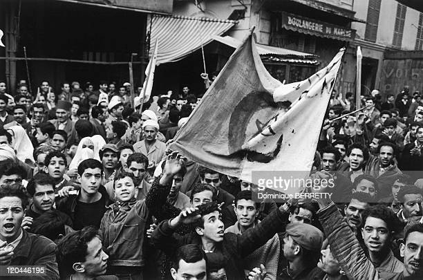 The Algerian War In Algiers Algeria In 1961 Algerian demonstrations followed one another beginning in the fall100 died and over 12000 were arrested