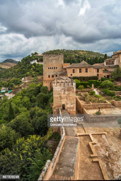 The Alhambra at Granada Spain