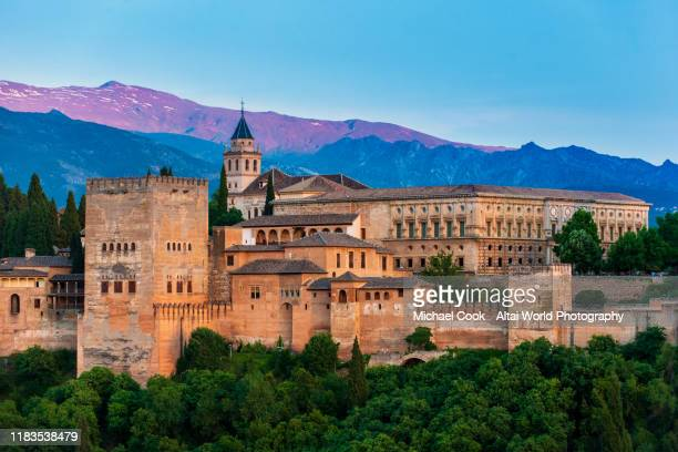 the alhambra - alhambra spain stock pictures, royalty-free photos & images