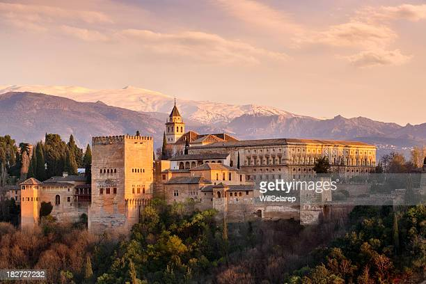 the alhambra - granada province stock pictures, royalty-free photos & images