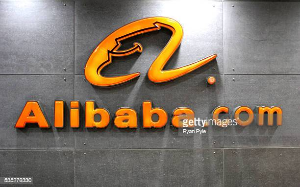 The Alibabacom logo at the Alibabacom headquarters in Hangzhou China Alibabacom is one of the worldÕs leading Internet companies With its...