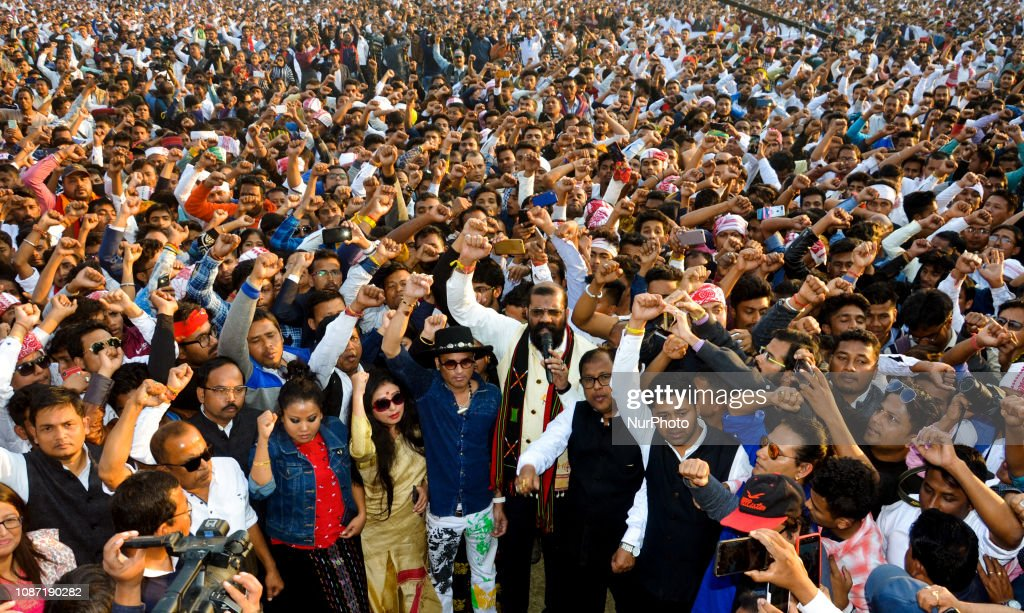 Protest Against The Citizenship Bill In Assam : ニュース写真