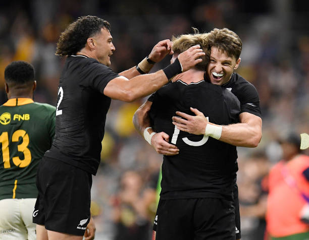 AUS: New Zealand v South Africa - Rugby Championship