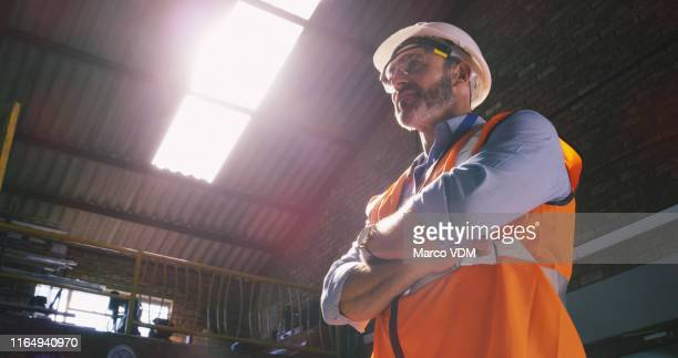 the all seeing eyes of an engineer - building contractor stock pictures, royalty-free photos & images