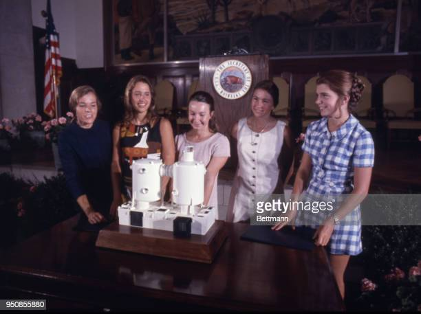 The all women diving team that spent two weeks on an historic mission beneath the waters of Great Lameshur Bay in the Virgin Islands were honored at...