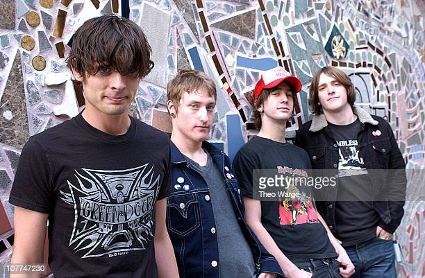 the all american rejects photo session ストックフォトと画像 getty