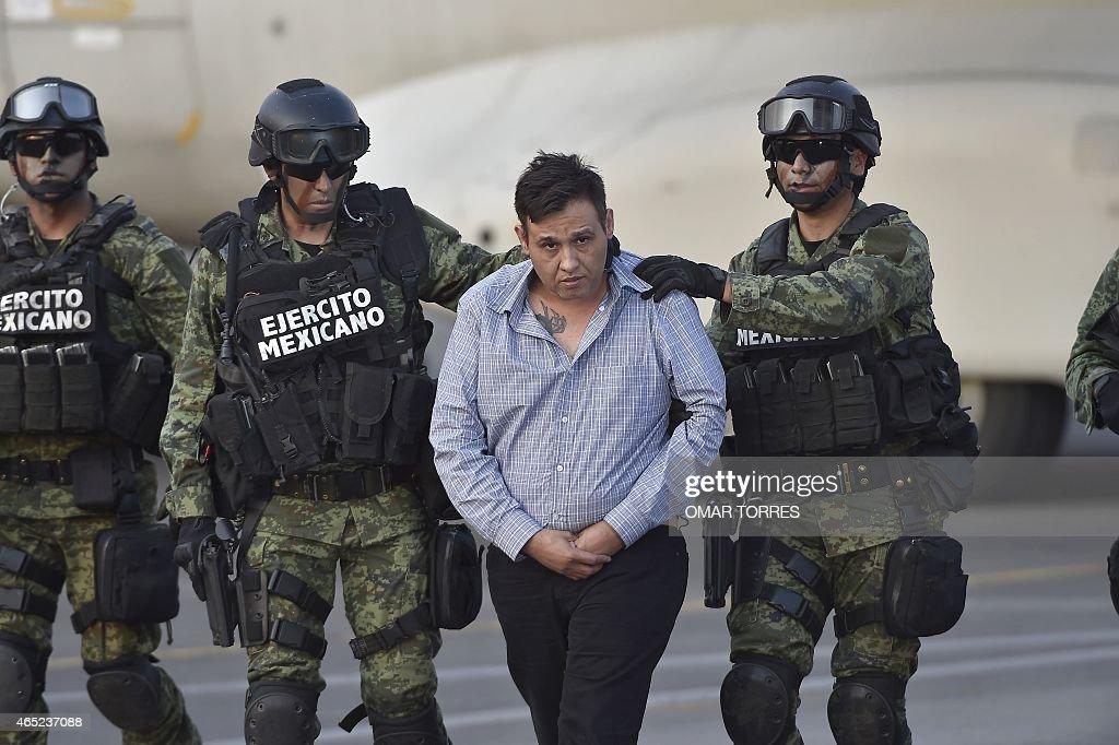 The alleged leader of the Zetas drug carteL, Oscar Omar
