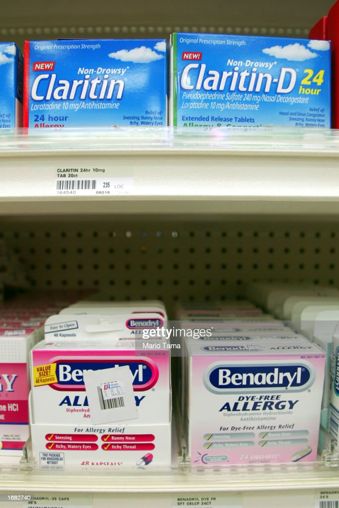 Claritin Hits Shelves Nationwide : News Photo