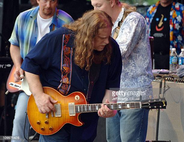 The Allman Brothers Band during Bonnaroo 2005 Day 1 The Allman Brothers Band at What Stage in Manchester Tennessee United States